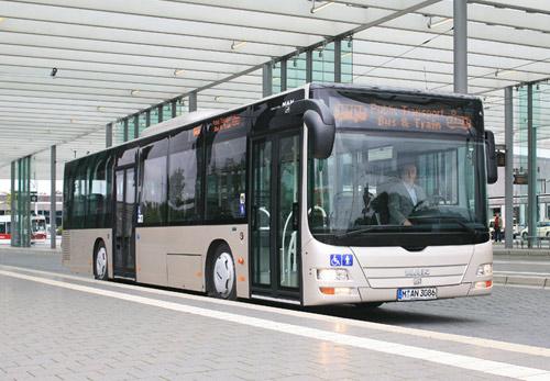 Низкопольный автобус lions city tu