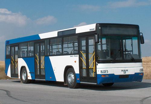 Автобус городского назначения lions classic