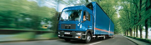 Большегрузный грузовик tgm