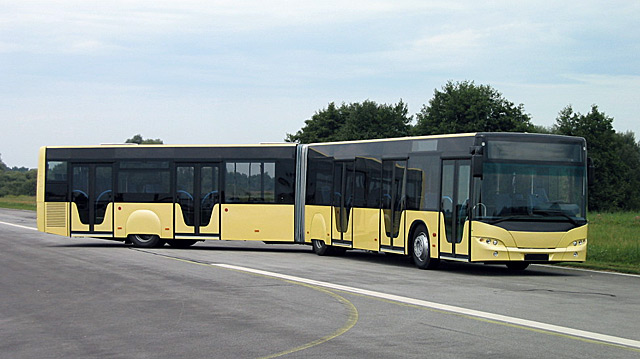 Автобус городского назначения centroliner 4516.