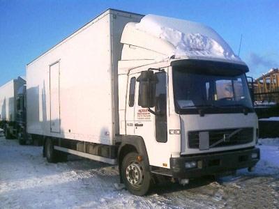 Автофургон промтоварный volvo fl61